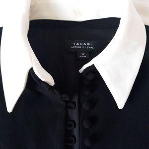 Tahari dress long sleeve size 12